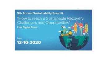Στις 13/10 το 5ο Annual Sustainability Summit